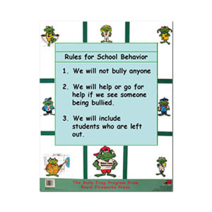 Rules for Classroom Behavior Poster